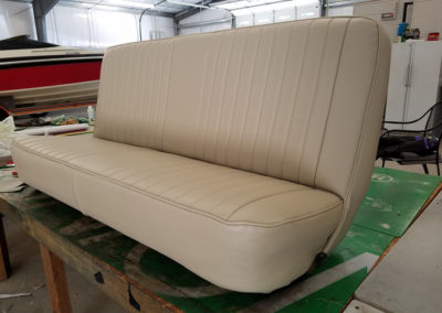 reupholstered set